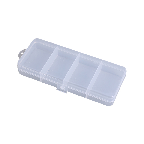 Plastic Rectangular Crystal Clear Storage Box Collection Container Collection