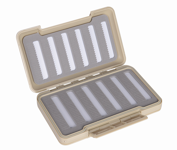 Plastic Transparent Foam Inserted Into Design Fly Fishing Box
