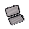 Fish Fly Fishing Box Fly Storage Protective Shell Waterproof Two-Sided Plastic Ttansparent Box