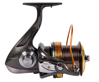 1 Pcs Fishing Reel with Front Drag Aluminum Alloy Body Spinning Reel