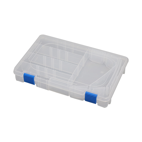 Plastic Storage Box Fishing Hook Fishing Tackle Box Container Accessories