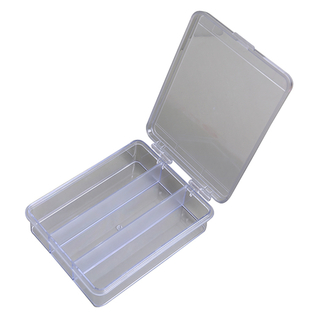 Grid Plastic Transparent Plastic Box
