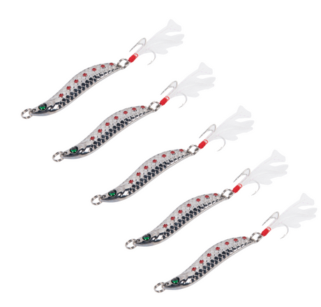 Trout Spoon Fishing Lures Spinner Baits Crankbait Bass Tackle
