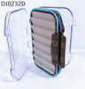 1PC Transparent Waterproof ABS Fly Fishing Box 10.6*7.6*3.6cm