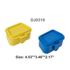 1PC Small Yellow PP Alive Lure box 11.5*8.8*5.5 cm