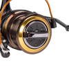 1PC Yellow Fishing Reel with Front Drag Aluminum Alloy Body Spinning Reel