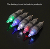 12cm Clear Underwater Fishing Light LED Waterproof Fish Lamp
